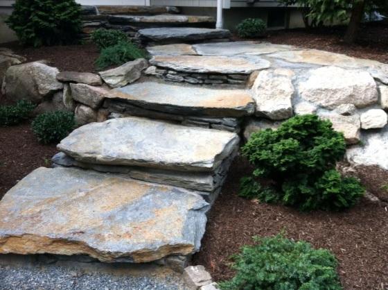goshen stone stairs