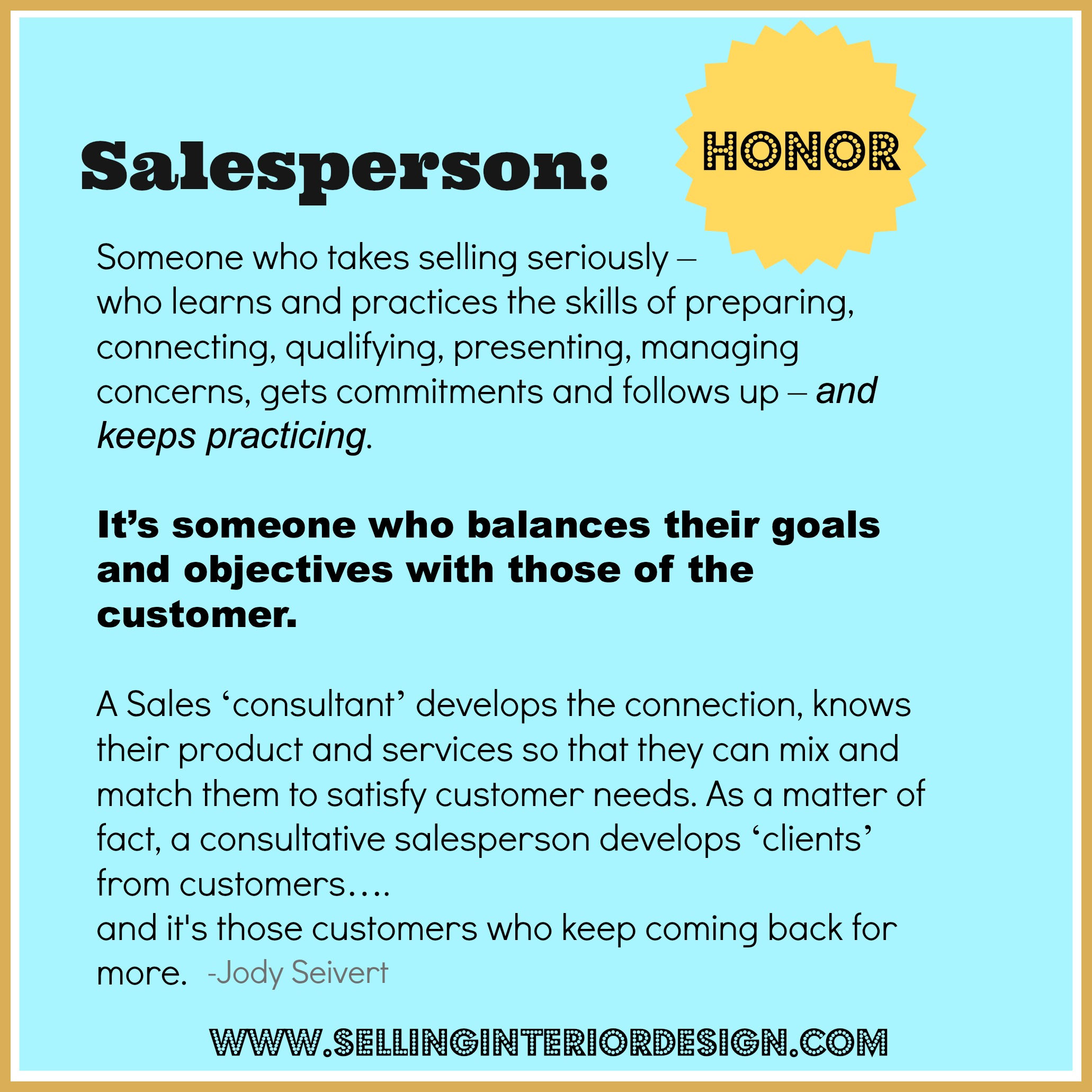 what makes a successful salesperson Fourteen traits of a great sales person  the correct mental make-up and attitude to be successful and help their company or  but instead makes the sales.