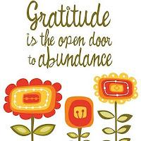 gratitude abundance