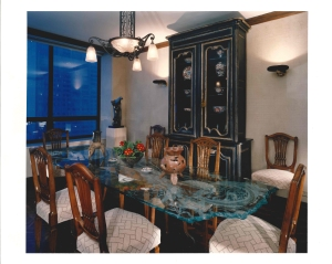 Chicago Watertower Place Dining Room