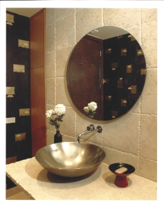 Oak Brook Powder Room